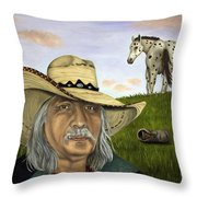 What An Ass Throw Pillow by Leah Saulnier The Painting Maniac