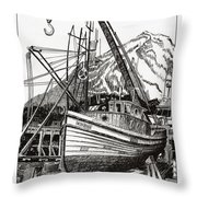 Will Fish Again Another Day Throw Pillow by Jack Pumphrey