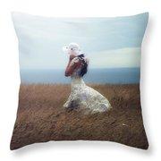 Windy Day Throw Pillow by Joana Kruse