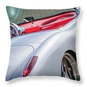 1960 Chevrolet Corvette Throw Pillow by Jill Reger