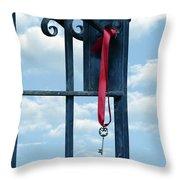 key Throw Pillow by Joana Kruse