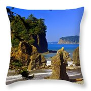 1234 Throw Pillow by Marty Koch