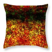 1437 Abstract Thought Throw Pillow by Chowdary V Arikatla