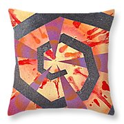 Untitled Throw Pillow by Tanya Hamell