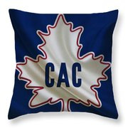 Montreal Canadiens Throw Pillow by Joe Hamilton