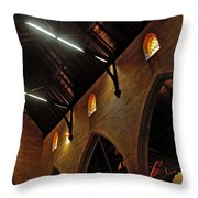 1865 - St. Jude's Church  - Interior 2 Throw Pillow by Kaye Menner
