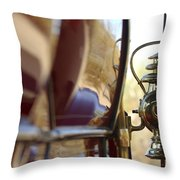 1903 Pope Hartford Model B 1 Cylinder 10 Hp 4 Passenger Dos Y Dos Chain Drive Lamp Throw Pillow by Jill Reger