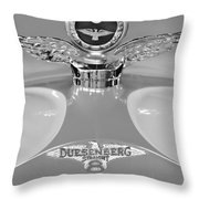 1926 Duesenberg Model A Boyce Motometer 2 Throw Pillow by Jill Reger