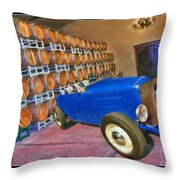 1927 Ford Roadster Throw Pillow by Blake Richards
