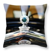 1931 Ford Model A Throw Pillow by Paul Ward