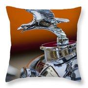 1932 Alvis Hood Ornament 2 Throw Pillow by Jill Reger