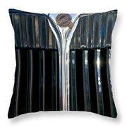 1932 Chrysler Hood Ornament Throw Pillow by Jill Reger