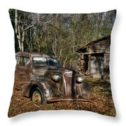 1937 Revisited Throw Pillow by Benanne Stiens