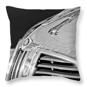 1938 Dodge Ram Hood Ornament 4 Throw Pillow by Jill Reger