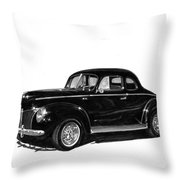 1940 Ford Restro Rod Throw Pillow by Jack Pumphrey