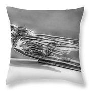 1941 Cadillac Throw Pillow by Kurt Golgart