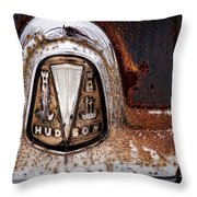 1946 Hudson Coupe  Throw Pillow by Gordon Dean II