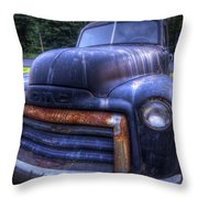 1947 Gmc Throw Pillow by Eric Gendron