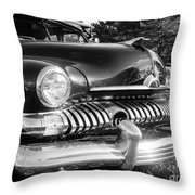 1951 Mercury Coupe - American Graffiti Throw Pillow by Edward Fielding