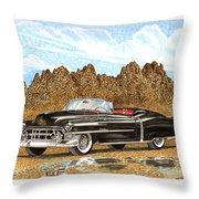 1953 Cadillac Eldorado Biarritz Throw Pillow by Jack Pumphrey