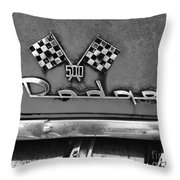 1956 Chevy 500 Series Photo 8 Throw Pillow by Anna Villarreal Garbis