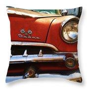 1956 Dodge 500 Series Photo 5b Throw Pillow by Anna Villarreal Garbis