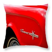 1963 Ford Falcon Sprint Throw Pillow by Brian Harig