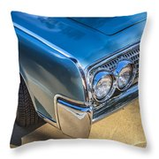 1964 Lincoln Continental Convertible  Throw Pillow by Rich Franco