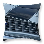 1969 Chevrolet Camaro Z 28 Grille Emblem Throw Pillow by Jill Reger