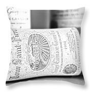 1994 Grand Cru Throw Pillow by Nomad Art And  Design