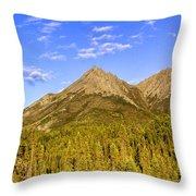 Alaska Mountains Throw Pillow by Chad Dutson