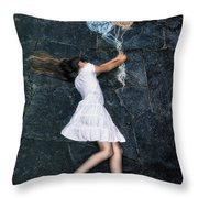 balloons Throw Pillow by Joana Kruse