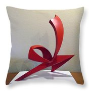 Capoeira Throw Pillow by John Neumann