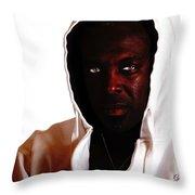 Frustration Throw Pillow by Gunter Nezhoda
