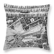 George IIi: Coronation, 1761 Throw Pillow by Granger