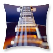 Guitar Throw Pillow by Stelio Photography