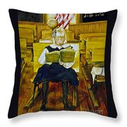 Lessons to Last a Lifetime Throw Pillow by Linda Simon