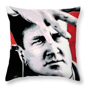 Lil . . She's My Mother's Sister's Girl Throw Pillow by Luis Ludzska
