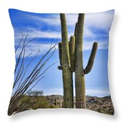 Loving Couple Throw Pillow by Kelley King