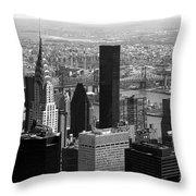 Manhattan Throw Pillow by RicardMN Photography