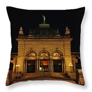 Memorial Hall - Philadelphia Throw Pillow by Bill Cannon