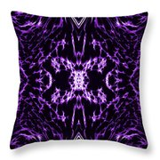 Purple Series 2 Throw Pillow by J D Owen