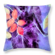 Send Me An Angel 3 Throw Pillow by Angelina Vick