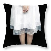 Tied Throw Pillow by Joana Kruse