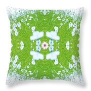 Unnatural 37 Throw Pillow by Giovanni Cafagna