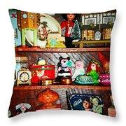 Vintage Pop Throw Pillow by Donatella Muggianu