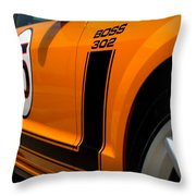 2007 Ford Mustang Saleen Boss 302 Throw Pillow by Brian Harig