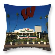 2013 Rose Bowl Pasadena Ca Throw Pillow by Tommy Anderson