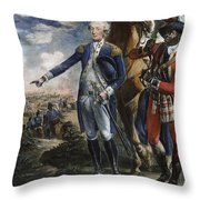 Marquis De Lafayette Throw Pillow by Granger