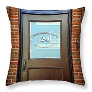 24 Yawkey Way Throw Pillow by Stephen Stookey